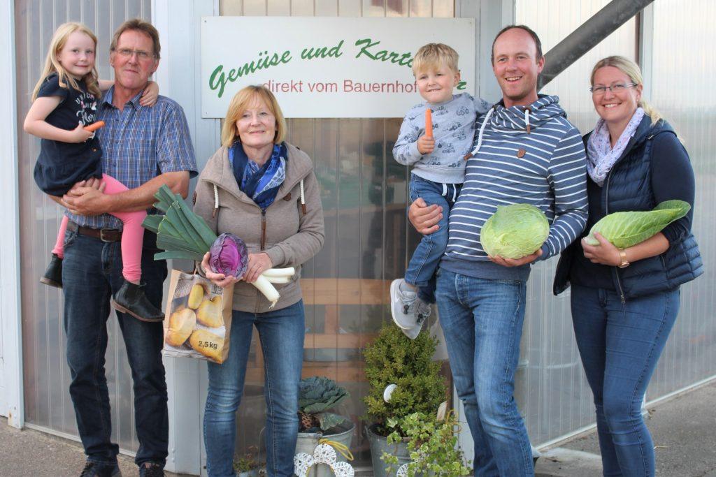 Familie Peters. © Gemüsehof Peters