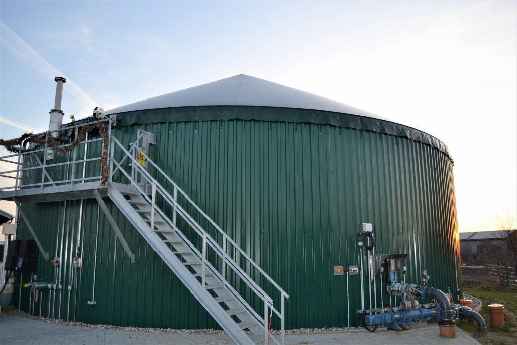 Biogasanlage. © Hof Barslund