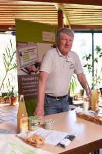 Ernst Schuster, Vorsitzender der Nordbauern in Schleswig-Holstein.